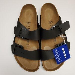 New Birkenstock Arizona Black Sandals 41